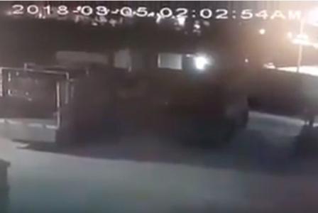 بالفيديو…لحظة سرقة (82) اسطوانة غاز من احد مستودعات الغاز في الرمثا