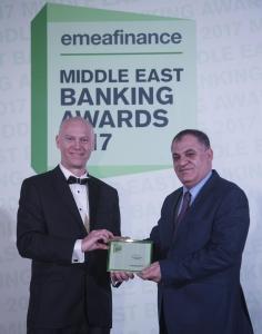 EMEA Financeتمنح البنك الإسلامي الأردني جائزة أفضل بنك إسلامي في الأردن لعام2017