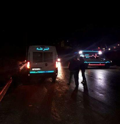 الاجهزة الامنية تتعامل مع قنبلة يدوية في منطقة القويسمة شرق عمان