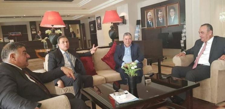 .اجتماع  تشاركي بين القطاع العام والخاص في مقر جمعية الفنادق