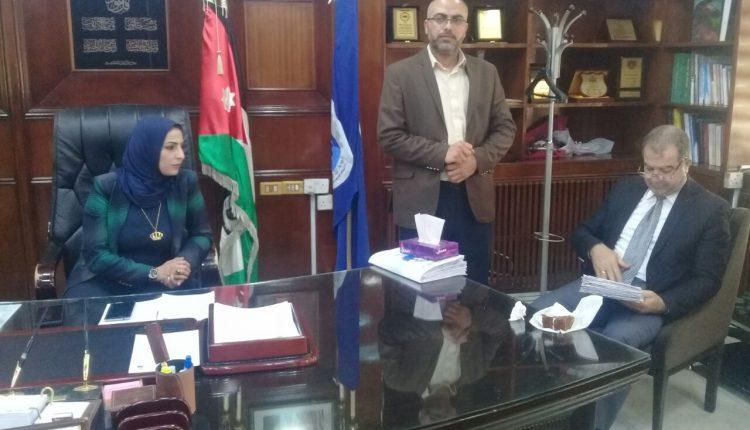 ابو السكر : تكليف الزميلة نسرين الزواهرة رئيسا لبلدية الزرقاء تكريما للمرأة.