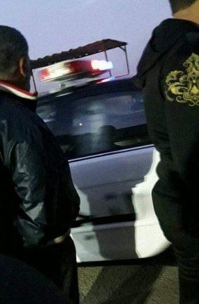 """شاهد بالصور … مشاجرة وتحطيم زجاج مركبات في """"سوق الحرامية"""" بإربد"""