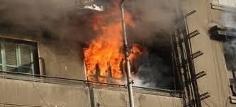 اصابة 13 شخصاً من عائلة واحدة اثر حريق منزل في المفرق