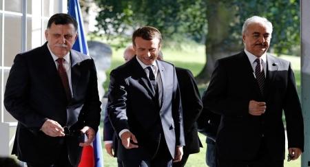 """الخارجية الفرنسية تصدراً أول تعليق رسمي على حالة """" حفتر """" الصحية"""