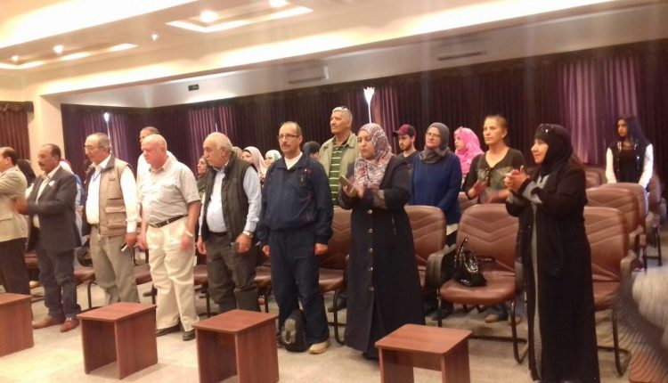 افتتاح الملتقى الاول للسياحه الثقافيه والعلميه في مادبا