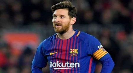 ميسي يحصد جائزة لاعب الشهر في الدوري الإسباني