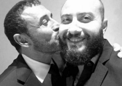 بالصورة .. كاظم الساهر يحتفل بخطوبة ابنه 'وسام' على هذه الفتاة