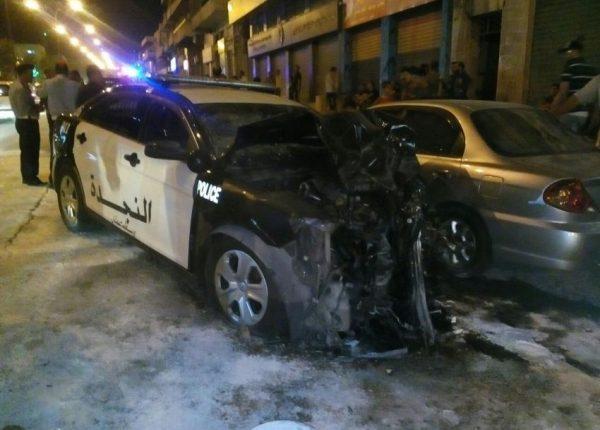 بالفيديو…وفاتين و (3) إصابات بحادث تصادم بمنطقة رأس العين في عمان