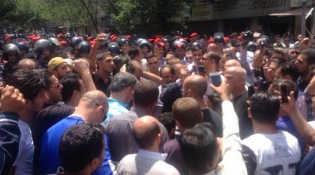 بالصور.. مسيرة حاشدة في وسط البلد احتجاجا على القرارات الحكومية