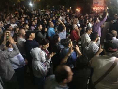 الفعاليات الشعبية تواصل الاحتجاجات في معظم أنحاء مدينة اربد