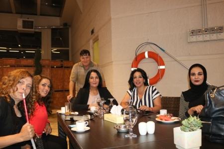 حامدعوض يستضيف الاعلاميين على مائدة افطار رمضانية