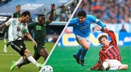 هدف ميسي يعيد مارادونا إلى ذكريات الماضي