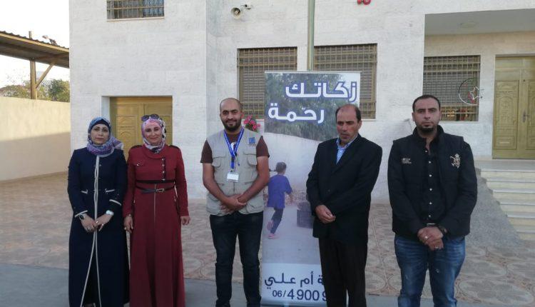 جمعية نور السماء الخيرية تقيم افطار رمضاني للايتام بتعاون مع مدرسة كنز المعرفة النموذجية