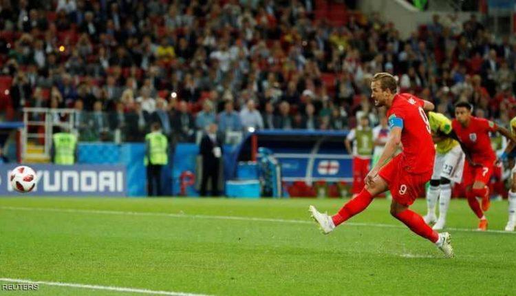 الشوط الإضافي الثاني.. إنجلترا 1-1 كولومبيا