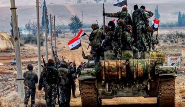 عاجل .. الجيش السوري يسيطر على معبر نصيب مع الأردن