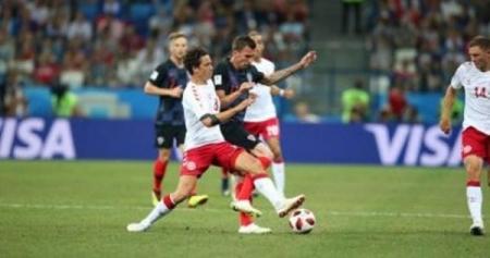 كرواتيا تهزم الدنمارك بركلات الترجيح وتواجه روسيا في ربع النهائي