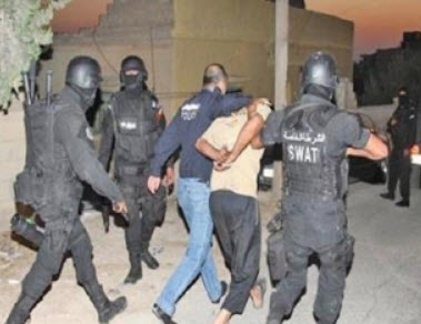 مداهمة نوعية تؤدي الى القبض على 13 شخصا من المتورطين بالمخدرات. الاغوار