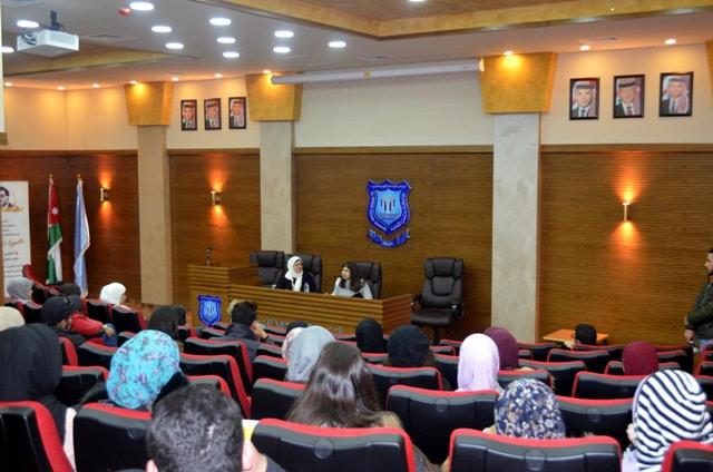 علم النفس والتربية الخاصة بجامعة عمان الاهلية يستضيفانمؤسسة مبادرة رنين للمكتبة المسموعة
