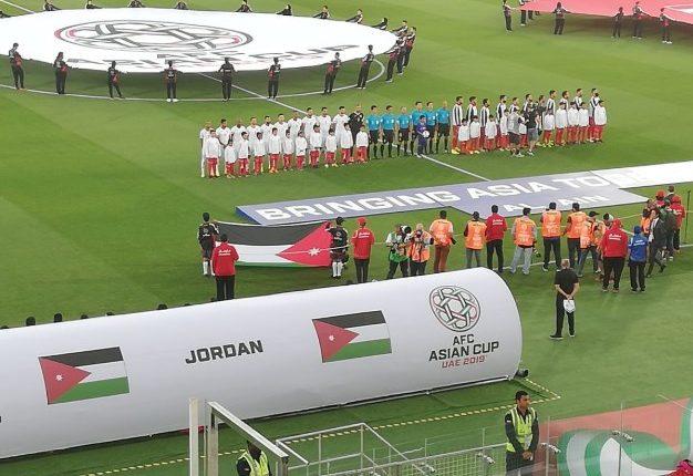نهاية الشوط الاول.. الاردن 2 – 0 سوريا