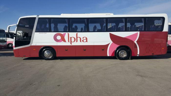 الفا للنقل السياحي تؤكد عدم تعرض اي من حافلاتها لحادث في السعودية