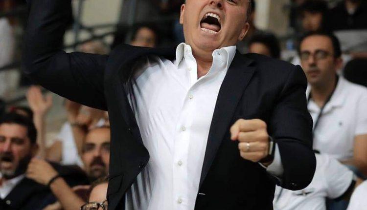حامد عوض يهنئ محمد عليان بمناسبة انتخابه رئيسا لاتحاد غرب اسيا لكرة السلة