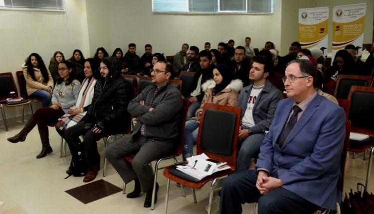الجامعة الأميركية في مادبا تنظم حملة توعوية حول التحديات البيئية في الأردن والمحيط العربي