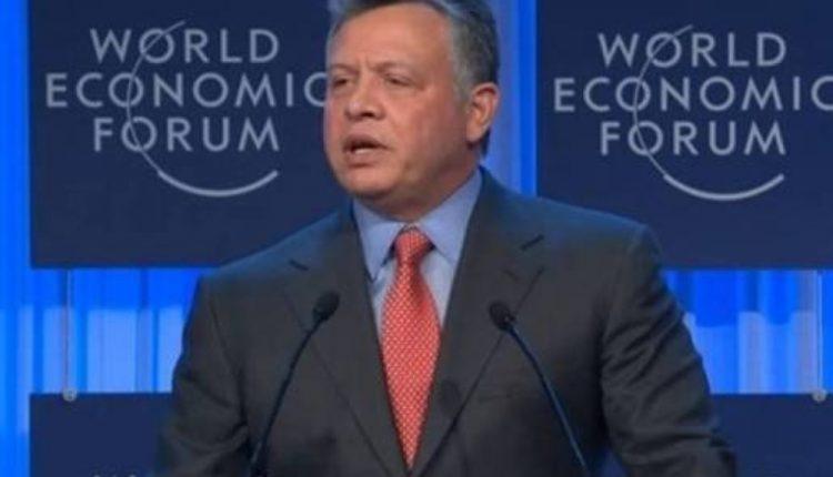 """الملك يفتتح المنتدى الاقتصادي العالمي """"دافوس"""" في البحر الميت"""