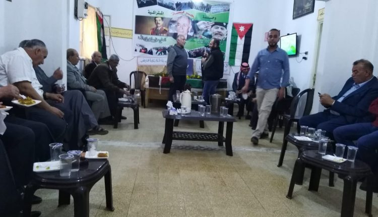 حزب البعث العربي الاشتراكي الاردني بمادبا يحتفل بمرور 72 عام على تاسيسه