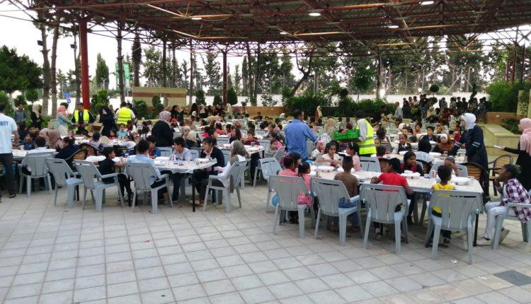 جامعة عمان الأهلية ومركز جابر العثرات ( بيت السلط ) يقيمان حفل إفطارللأيتام بمحافظة البلقاء