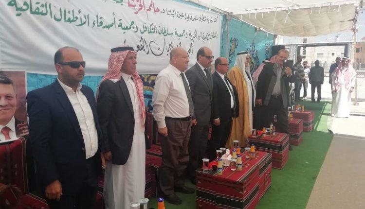 لجنة خدمات مخيم البقعة تنظم بازار رمضان الخيري