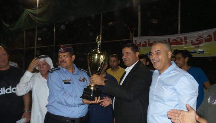 الازايده يرعى مبارات بطولة القائد الرمضانيه لخماسي كرة القدم في مادبا