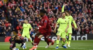 ليفربول يتقدم بثلاثة أهداف على برشلونة في نصف نهائي دوري ابطال اوروبا