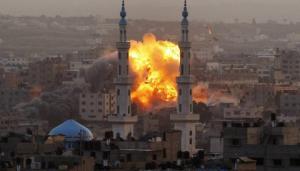 طائرات الاحتلال تقصف مناطق في قطاع غزة