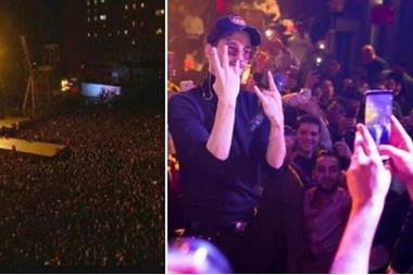 حفل غنائي يتسبب بمقتل 5 أشخاص (صور)