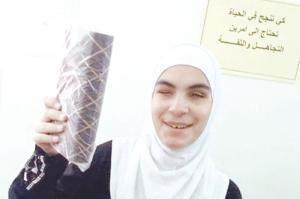 مروة .. فاقدة البصر تشق طريقها بنور البصيرة وتحفظ القرآن
