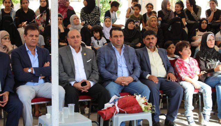 د.الحوراني يرعى احتفال جمعية بسمة عطاء الخيرية بمناسبة العيد العشرين للجلوس الملكي