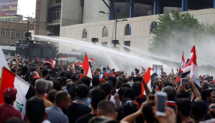الاحتجاجات في العراق تحصد 65 قتيل خلال 3 أيام