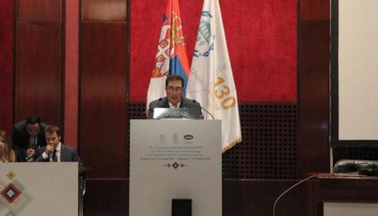 الطراونة يدعو رؤساء البرلمانات الدولية للضغط تجاه رفض نقل سفاراتها للقدس