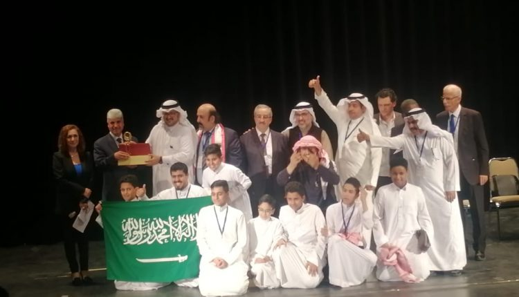 وزارة التعليم السعودي تحقق الجائزة الكبرى لأفضل عرض مسرحي في مهرجان الطفل العربي بالأردن