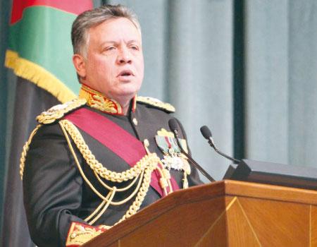 الملك يفتتح مجلس الأمة بخطاب العرش السامي، اليوم