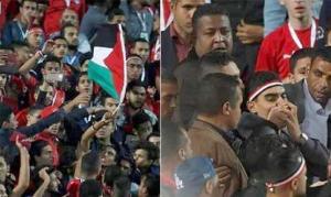تفاصيل حبس شاب مصري رفع علم فلسطين