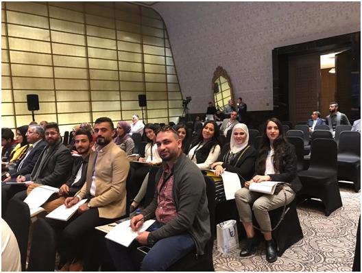 مشاركة جامعة عمان الأهليةفي مؤتمر البلقاء الهندسي الدولي الثاني