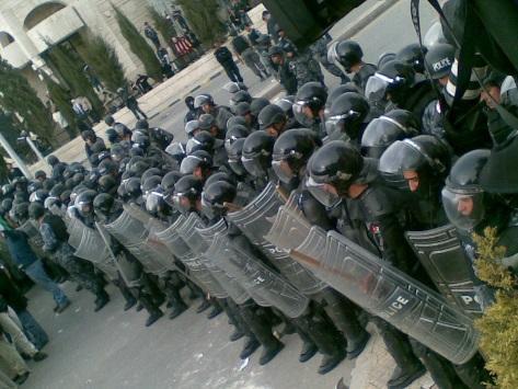 تواجد أمني في محيط الجامعة الأردنية على خلفية مشاجرة وقعت الاحد