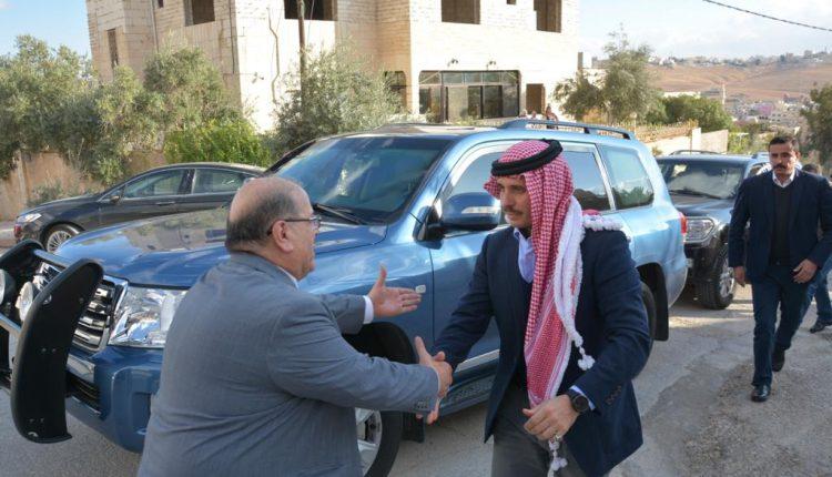 التلهوني يولم على شرف سمو الأمير حمزة بن الحسين