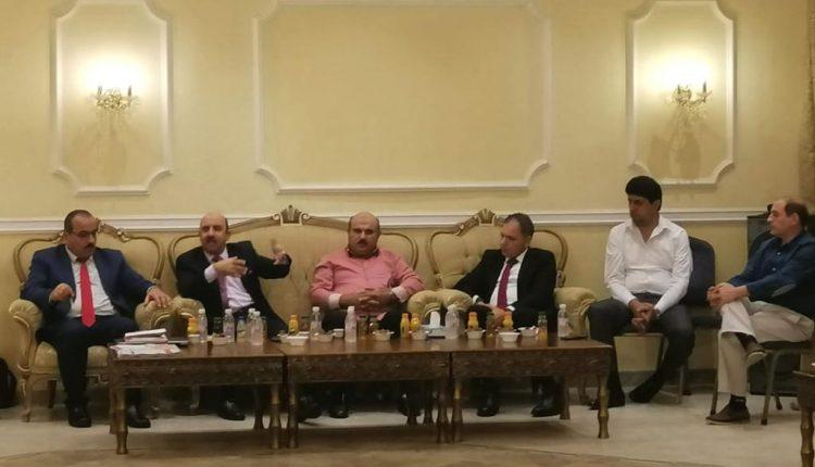 """وفد """"سفير"""" الضمان يلتقي الجالية الأردنية في ينبع"""
