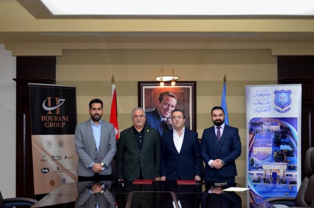 عمان الأهلية توقع اتفاقية تعاون أكاديمي مع GESCOللخدمات الجامعية