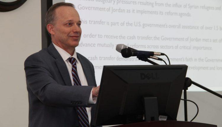 الجامعة الاميركية في مادبا تستضيف مدير الوكالة الامريكية للتنمية الدولية USAID