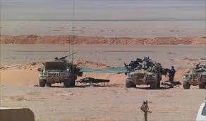 العراق يعلن بدء عملية عسكرية على الحدود مع الأردن