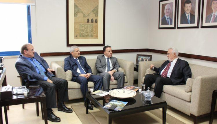 السفير الكرواتي يزور جامعة الأميرة سمية للتكنولوجيا
