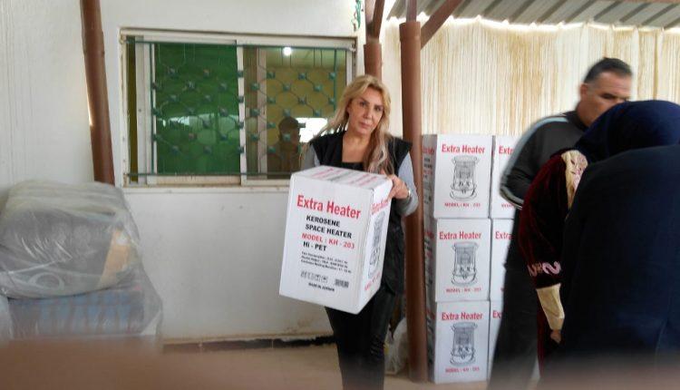 جمعية البلقاء الخيرية تنفذ حملة دفئ في مخيم غزه
